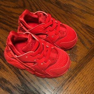 Baby Nikes brand new:)